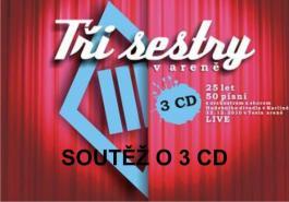 Soutěž o 3x 3CD Tři sestry