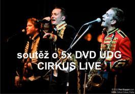 Soutěž o 5x DVD UDG