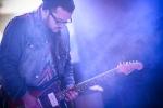 Astronautalis s kapelou v Lucerna Music Baru