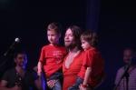 Ve Strážnici předali Kryštof půjčené srdce a kapelu doplnili dva malí bubeníci