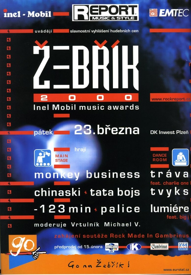 Žebřík 2000 Inel Mobil Music Awards