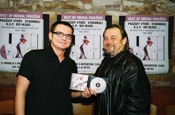MICHAL PAVLÍČEK POKŘTIL CD STORY