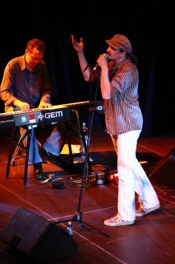 Dan Bárta a Balzar trio v Budějovicích