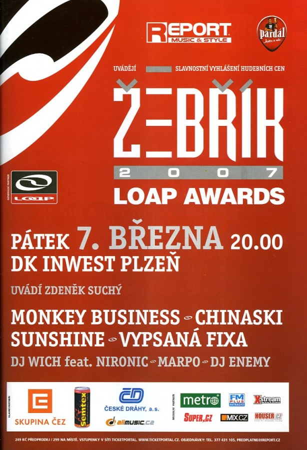 Žebřík 2007 Loap Awards – part 1