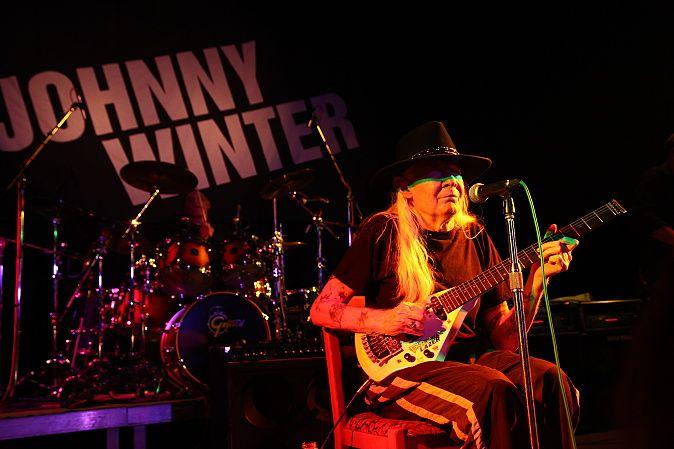 Johnny Winter v Písku