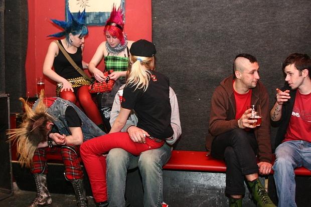 Punk v Budějovicích