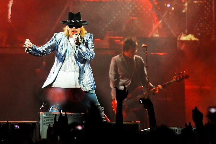 Guns N' Roses v O2 Areně