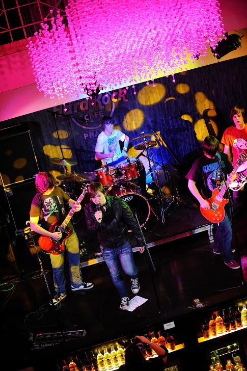 iREPORT party v Hard Rock Cafe
