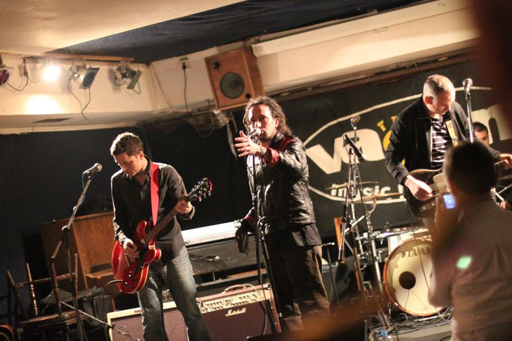 Křest CD Geoff Tyson a The Wavemen