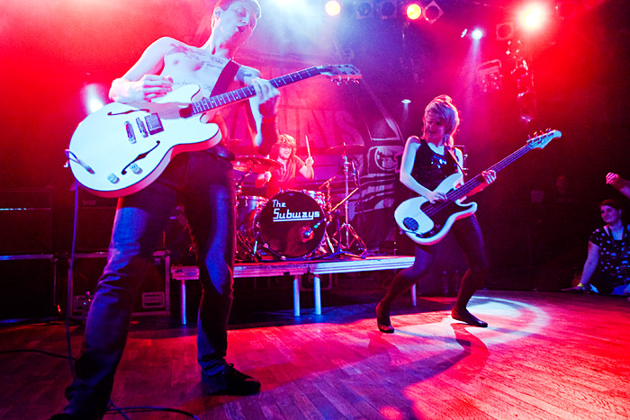 The Subways v Lucerna Baru