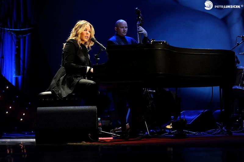 Diana Krall v Praze: jazz 30. let a gramofon místo iPodu