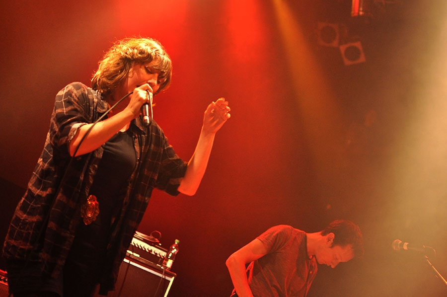 Emoce...a zase emoce: Future Islands v Lucerna Music Baru