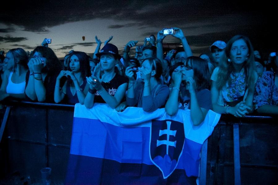 Hurts, Interpol, The Sounds nebo The Wombats zazářili na slovenském festivalu Grape