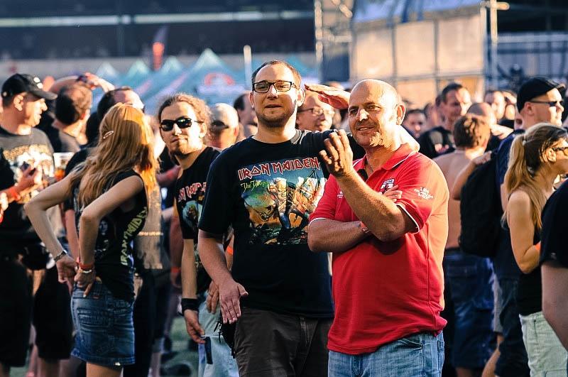 Iron Maiden rozezpívali svými největšími hity brněnský Velodrom