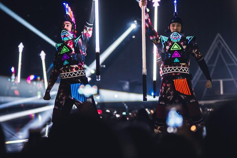 Katy Perry poprvé v Praze: hodně divadla, málo zpěvu