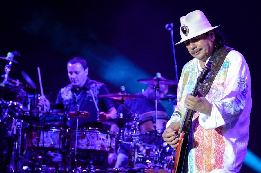 Kytarový mág Santana se vrátil do Prahy