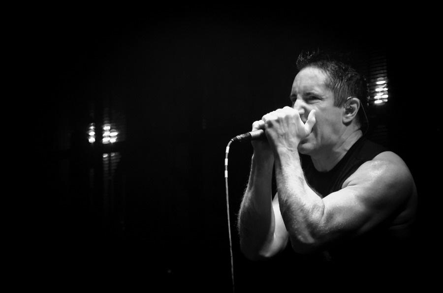 Nine Inch Nails pokřtili pražské Fórum Karlín