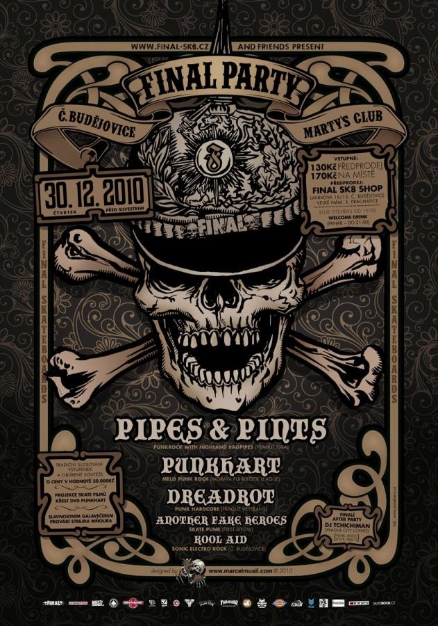 Pipes and Pints v Budějovicích