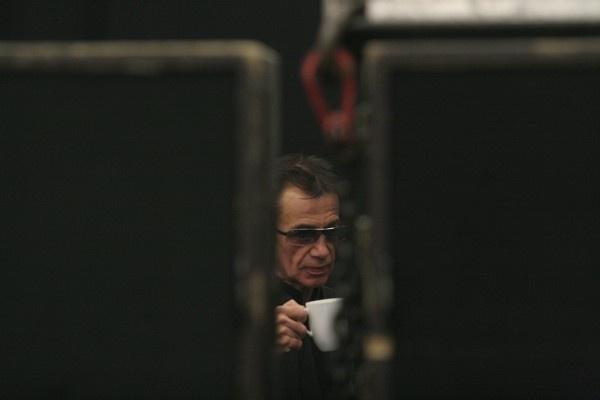 Průkopník elektronické hudby Jean-Michel Jarre vystoupil v Brně