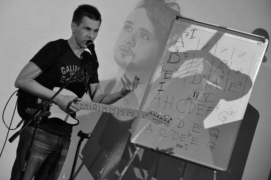 Struneři vol.1: Michal Pavlíček, Michal Pelant, Lukáš Chromek a IAN hrábli do strun