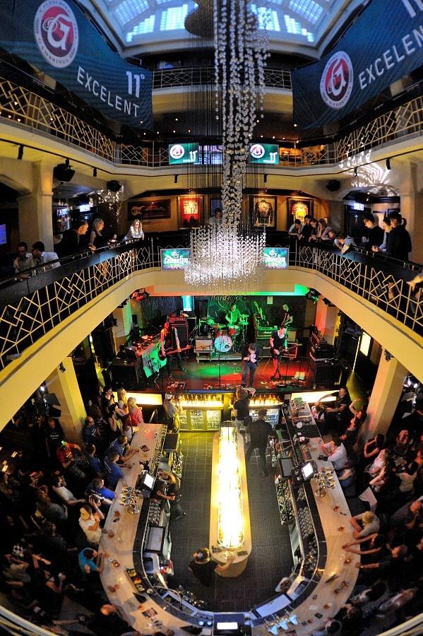 Sunshine a členové PSH spojili síly, vystoupili společně v Hard Rock Café