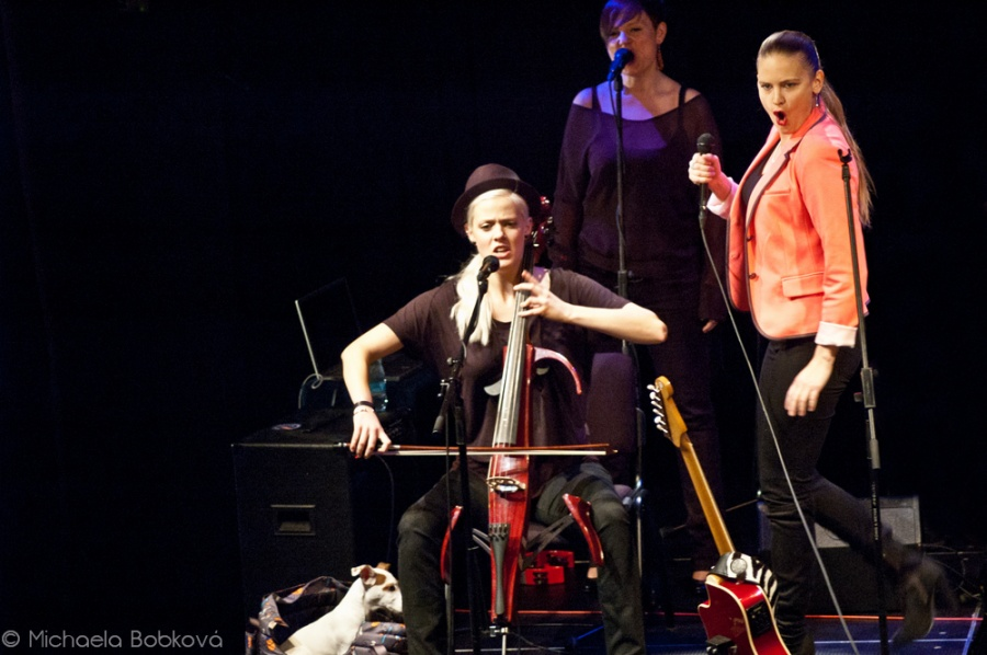 Vladivojna la Chia koncertovala v rodné Ostravě